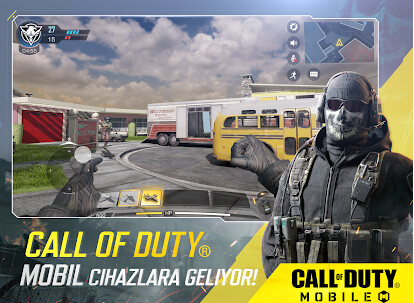Call Of Duty Mobile Android ve İOS'a indirme ve APK yükleme